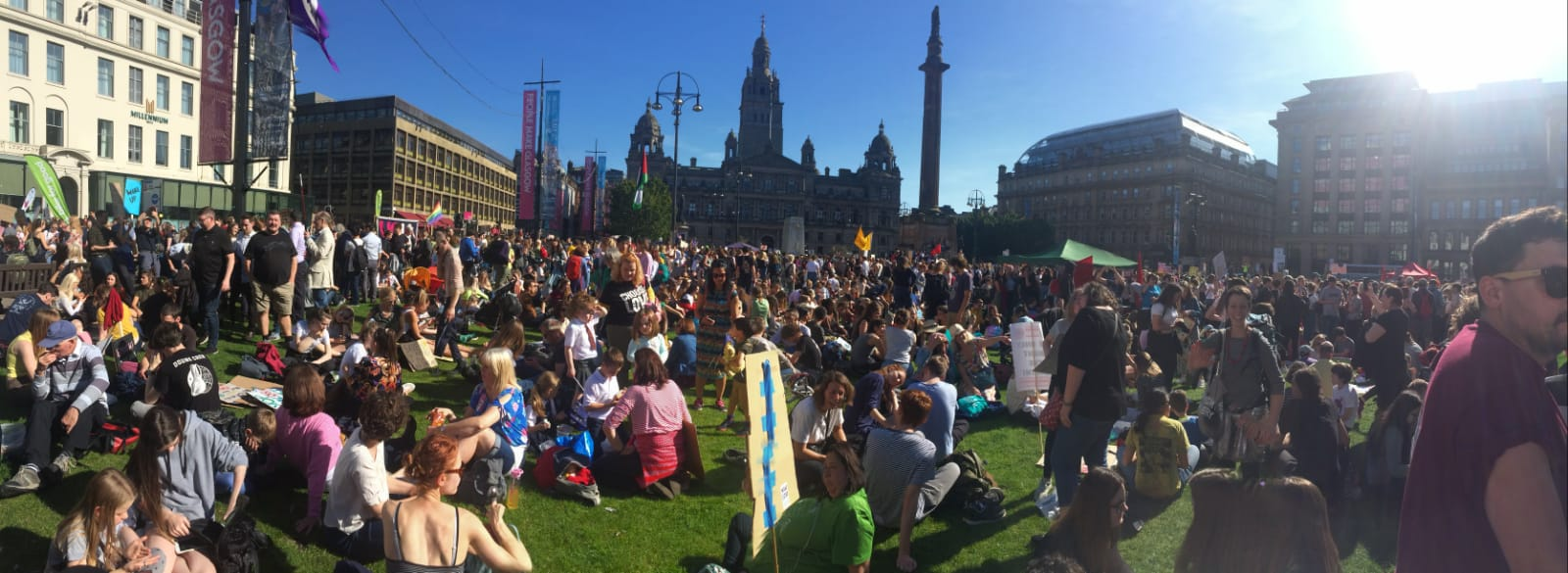 Climate Change Protest in Glasgow