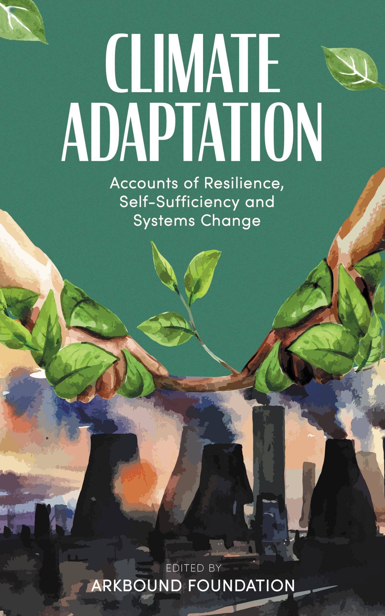 Arkbound Foundation book launch Climate Adaptation book cover